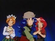 EP061 Violet junto a Daisy y Lily.