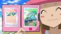EP826 Serena mostrando el Acuario Petroglifo