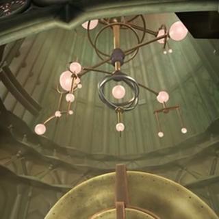Interior de la Torre del Espacio.