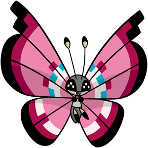 Vivillon floral (dream world)