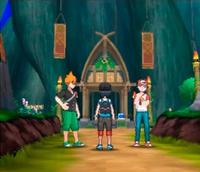 Aparicion de Rojo y Azul en Pokémon Sol y Luna