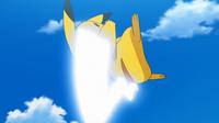 EP955 Pikachu usando cola férrea