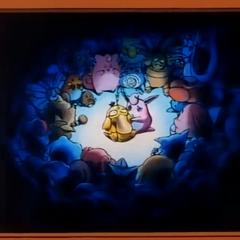 Al ver esta conmovedora escena, las familias de Psyduck y Wiggytuff dejan de ser enemigos.