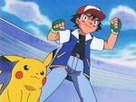 EP133 Ash y Pikachu