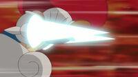 EP725 Escavalier usando ataque furia
