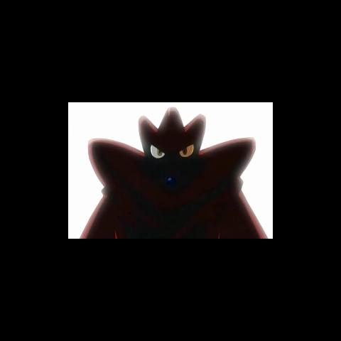 Scizor con el traje de Rayo/Relámpago Rojo.
