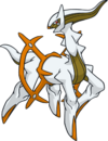 Arceus tipo tierra (dream world)