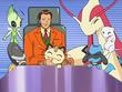 EP561 Meowth imaginándose como parte de la colección de Pokémon raros de Giovanni