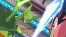 EP931 Greninja Ash vs Mega Sceptile