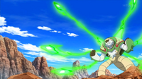 EP911 Chesnaught usando pin misil