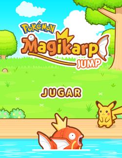 Carátula Pokémon Magikarp Jump