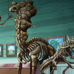 Esqueletos de <a href=