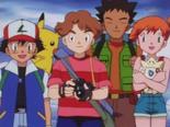EP191 Ash, Todd, Brock y Misty