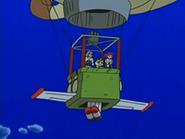 EP528 Alas y propulsor en el globo del Team Rocket