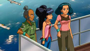 P09 personajes de Pokemon Ranger y el Templo Mar