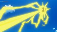EP1082 Pikachu usando Rayo
