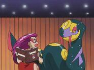 EP289 Jessie y Seviper en el concurso pokémon