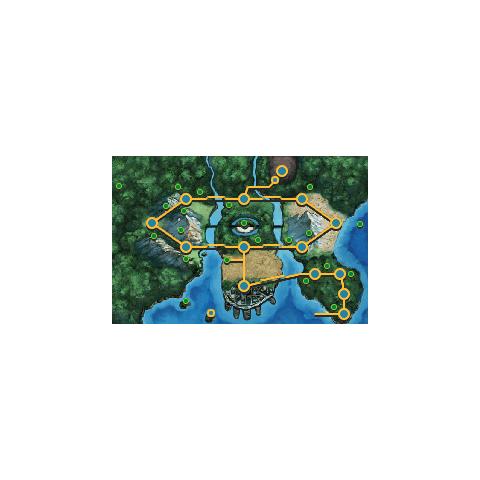 Mapa de Teselia en <a href=