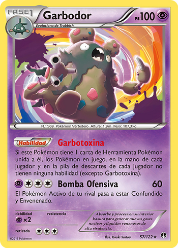 Carta de Garbodor