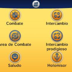 Opciones del Player Search System.
