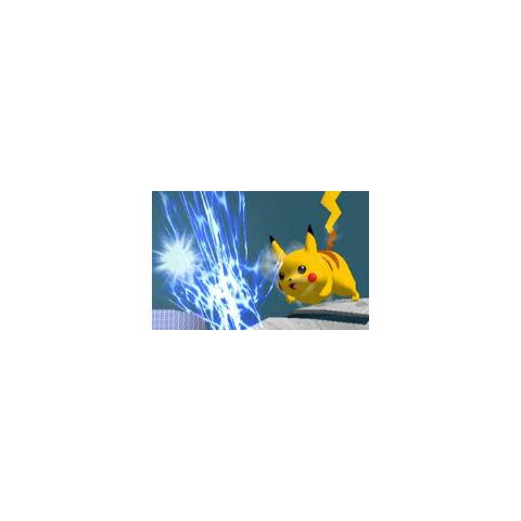 Pikachu usando Rayo en Super Smash Bros. Melee.