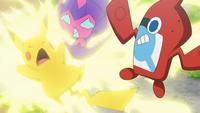 EP1020 Pikachu usando Rayo