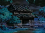 EP512 Puerta misteriosa de noche