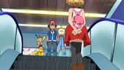 EP943 Lem, Clem y Pikachu sonrojados