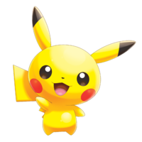 Artwork Pikachu PRW