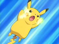 EP360 Pikachu usando impactrueno