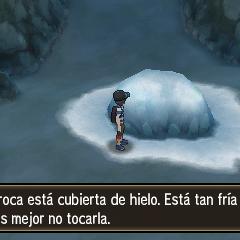 La roca hielo en el <a href=