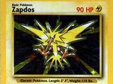 Zapdos (Base Set TCG)