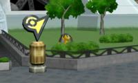 Helioptile en la Torre Prisma SSB4 3DS