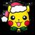Pikachu festivo PLB