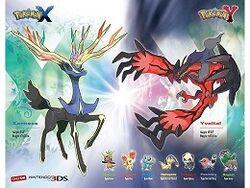 Póster por reservar Pokémon XY