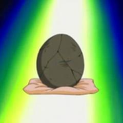 Huevo fosilizado de <a href=