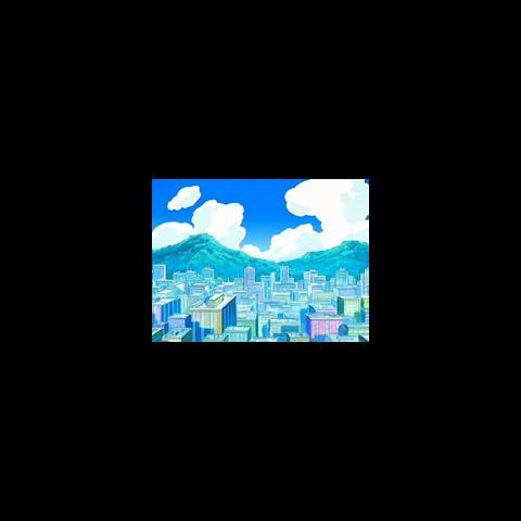 Ciudad Jubileo en el anime.