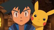 EP923 Ash y Pikachu