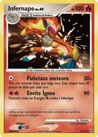 Infernape (Diamante & Perla TCG)