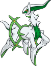 Arceus tipo planta (dream world)