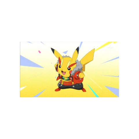 Pikachu Rock Star/roquero
