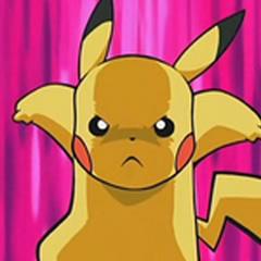 Pikachu enfurecido.