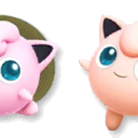 Paleta de colores de Jigglypuff en Super Smash Bros. 4.