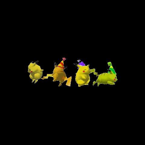 Paleta de colores de Pikachu en Super Smash Bros.