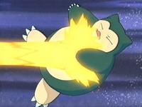 EP273 Snorlax de Ash atacado por su hiperrayo