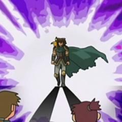Entonces, un día apareció un caballero que prometió librar a la aldea del Spiritomb, el Guardián del Aura.