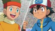 EP769 Kotetsu VS Ash
