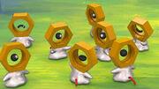 Grupo de Meltan en Pokémon GO
