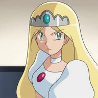 Zorua transformada en la princesa.