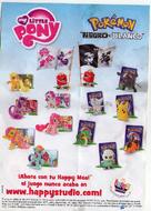 Folleto McDonalds Pokémon 2012 España